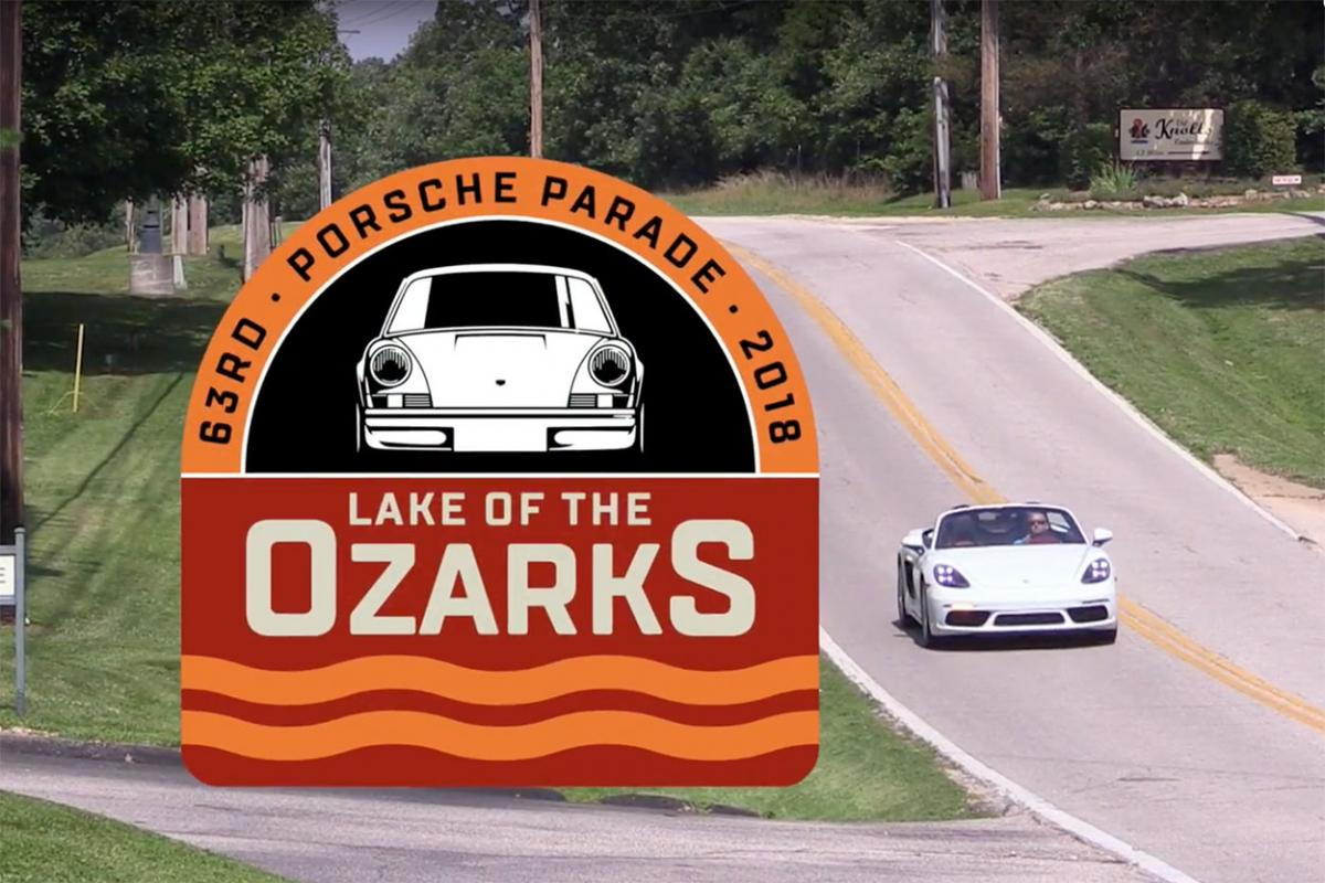 Porsche Parade 2018: Lake of the Ozarks